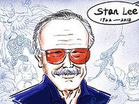 """""""漫威之父""""斯坦·李去世,西方江湖再无英雄"""