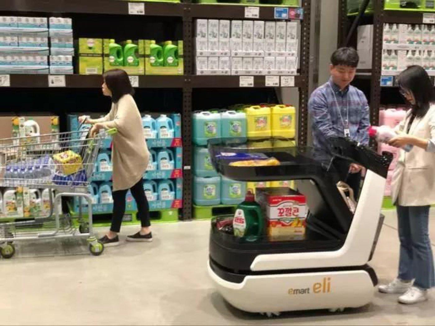 Eli智能跟随购物车