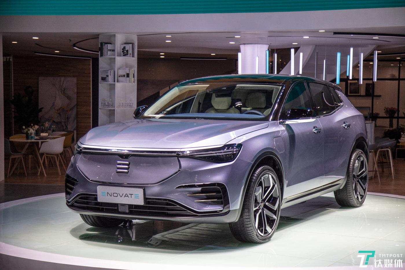 ENOVATE首款智能电动SUV ME7