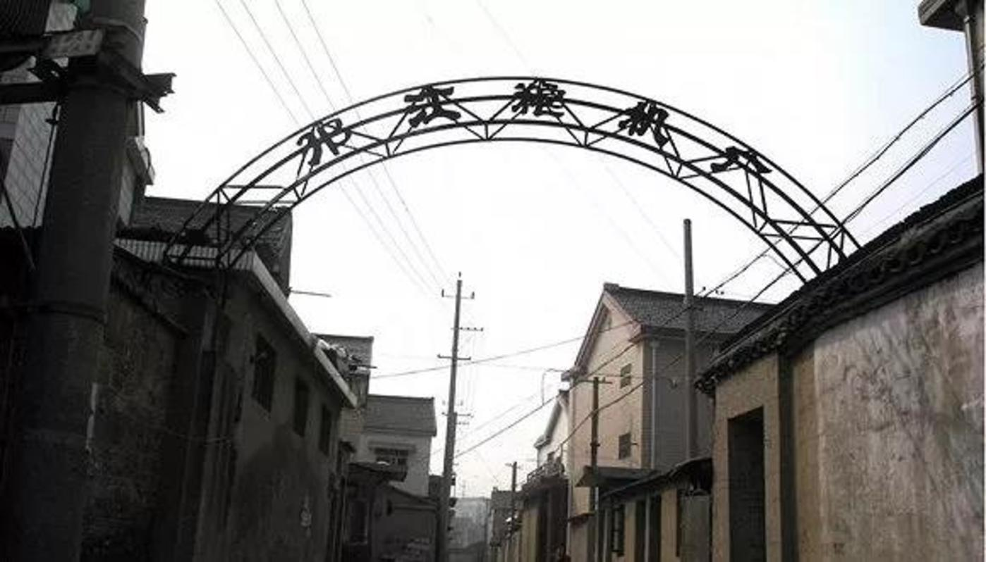 邗江粮机厂 旧址。 受访者供图