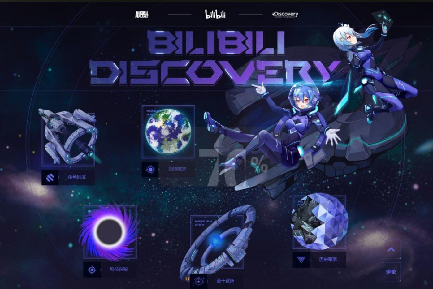 B站Discovery专区