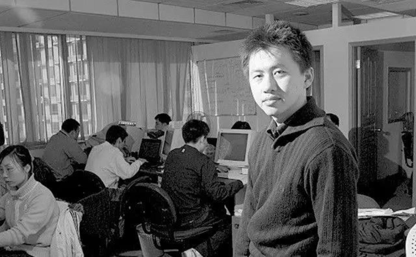 庄辰超早期在研究电脑技术