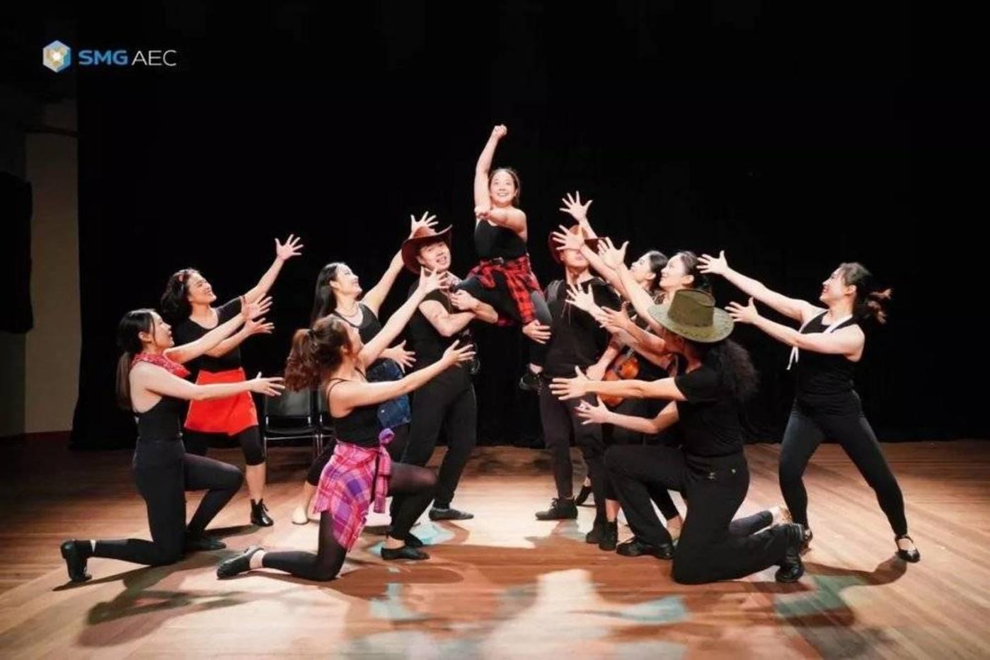SMG Live演艺人才培训计划——伦敦西区明星音乐剧课程第二期汇报演出