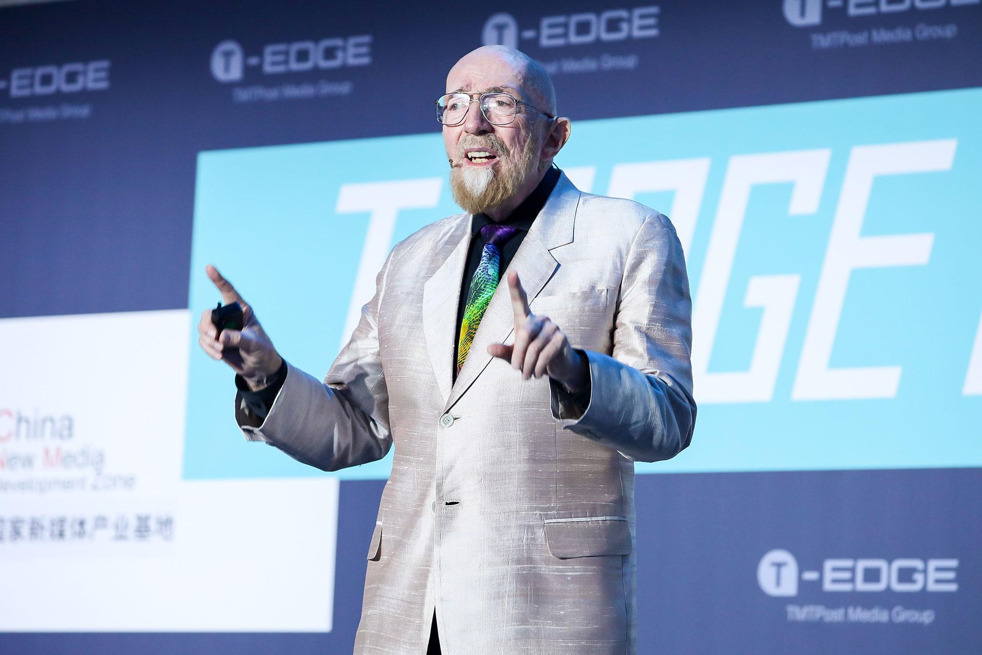那个探测到引力波的地球人来了|2018T-EDGE快剪