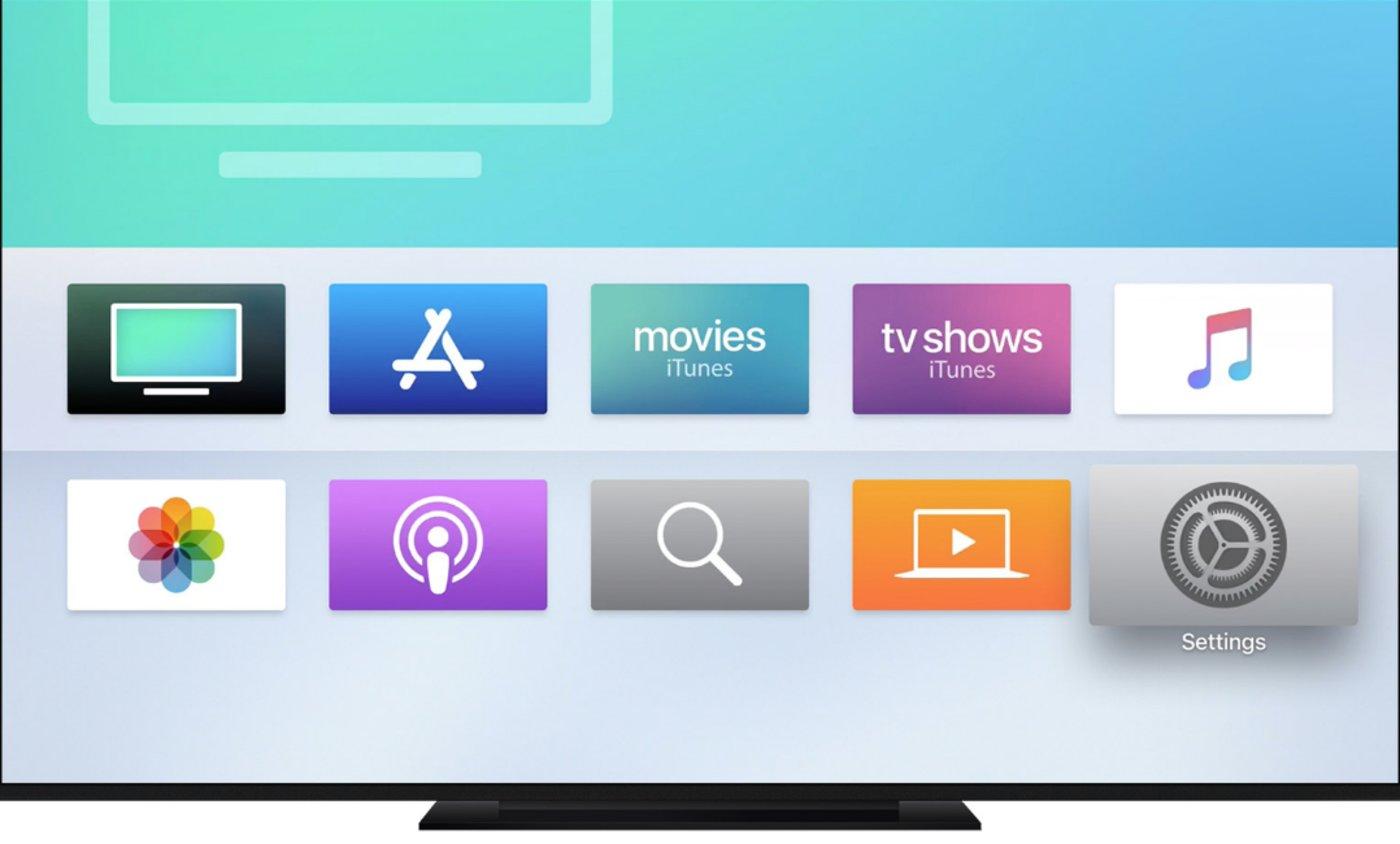 Apple tv 操作桌面