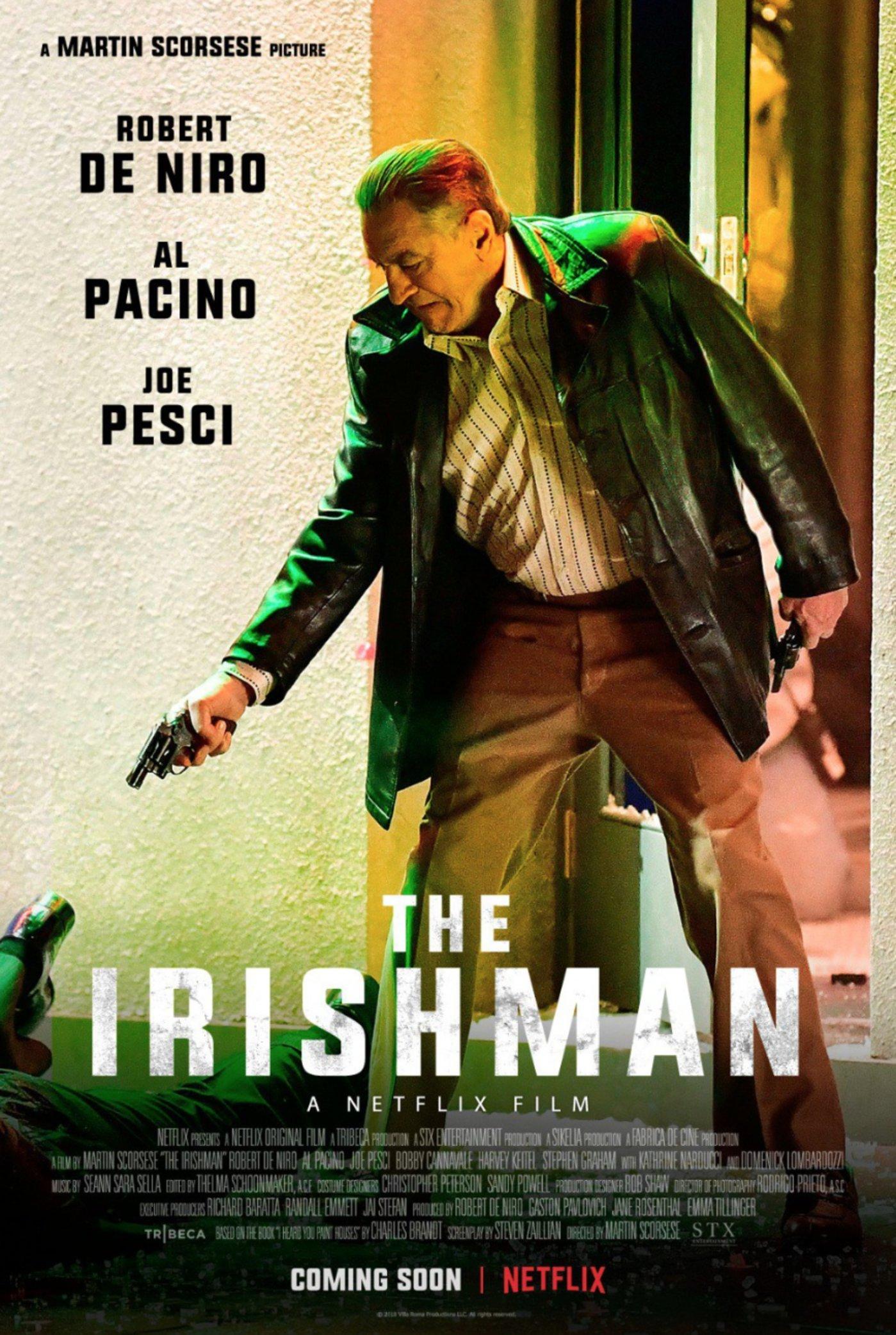 电影《爱尔兰人》海报