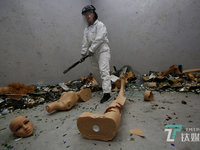 The Rage Room Helps People Blow Off Steam in China