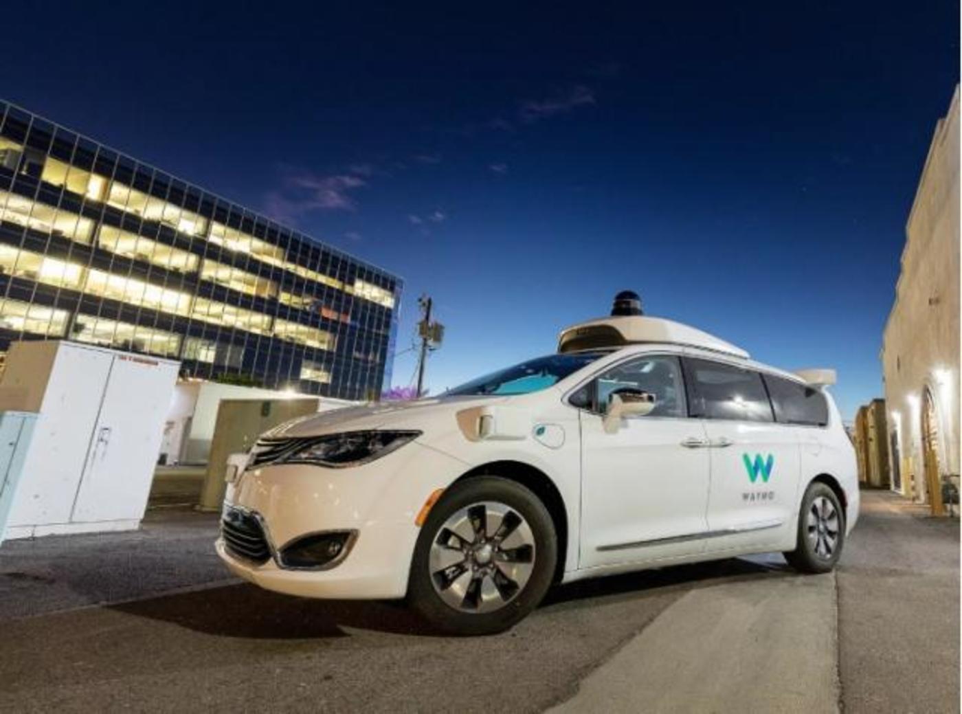 谷歌的自动驾驶出租车Waymo One