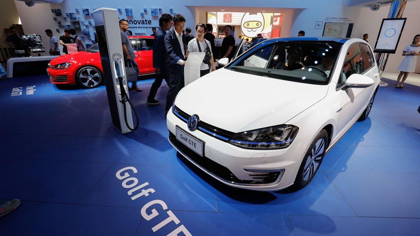 大众新能源车