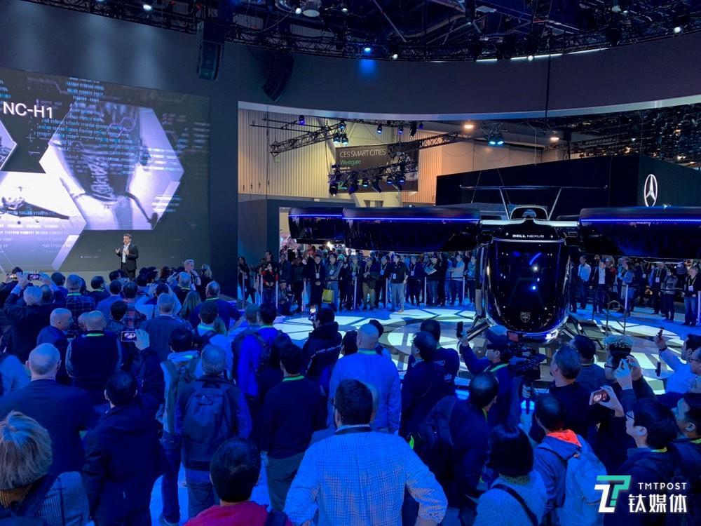 贝尔展示空中出租车Nexus,它可能是本届展会最酷产品 | CES 2019