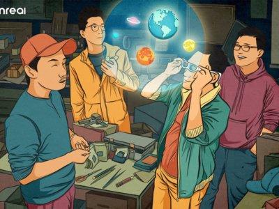 这家中国公司推出了全球最轻 MR 眼镜,Magic Leap 颠覆者来了?| CES 2019