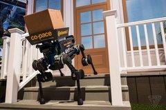 【CES 2019】德国大陆集团展示ANYMal包裹派送机器狗