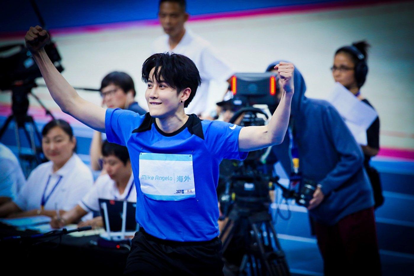 披拉·尼迪裴善官(Mike)参加综艺节目《超新星全运会》,图片来源@视觉中国