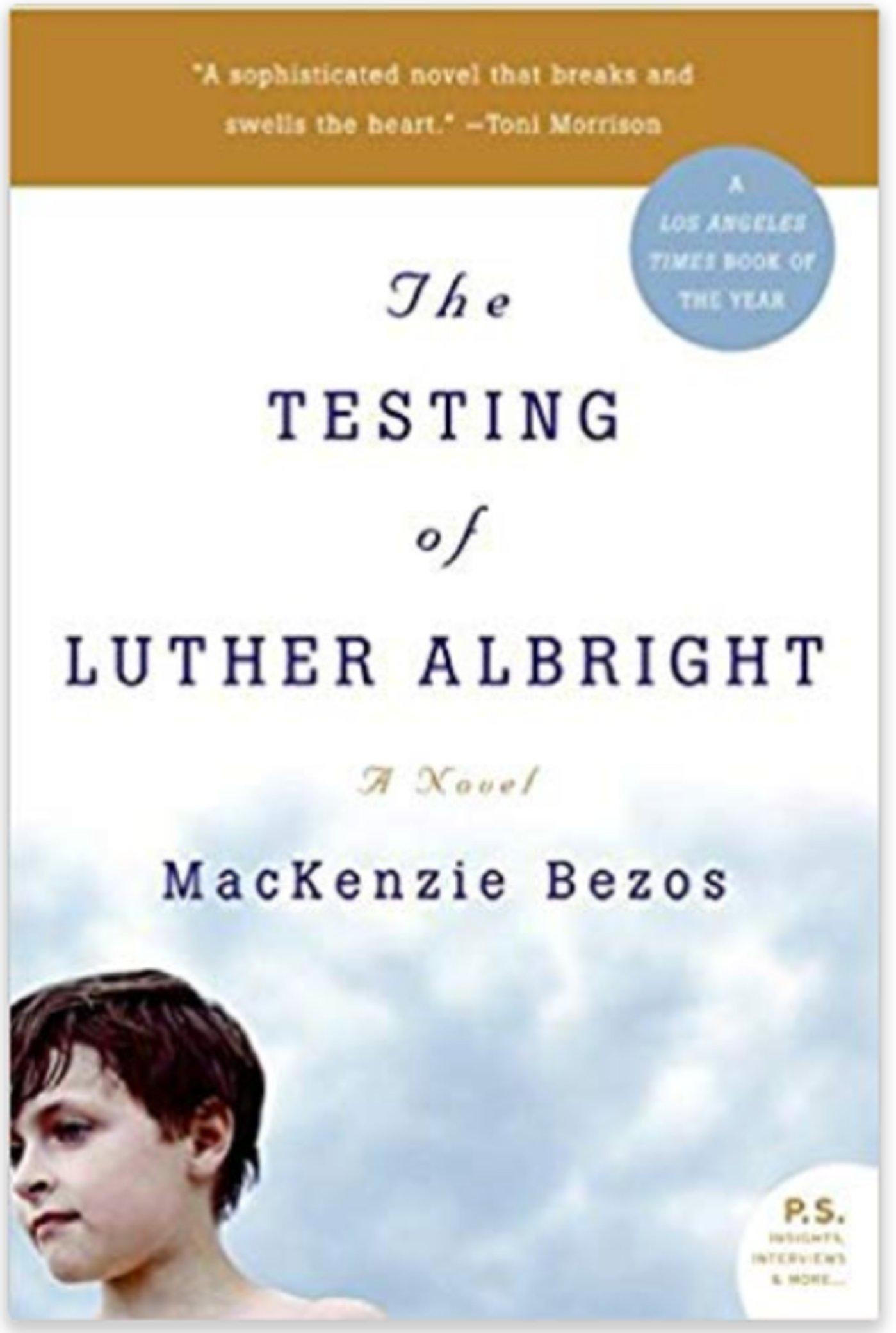 《卢瑟.奥布莱特的测试》封面