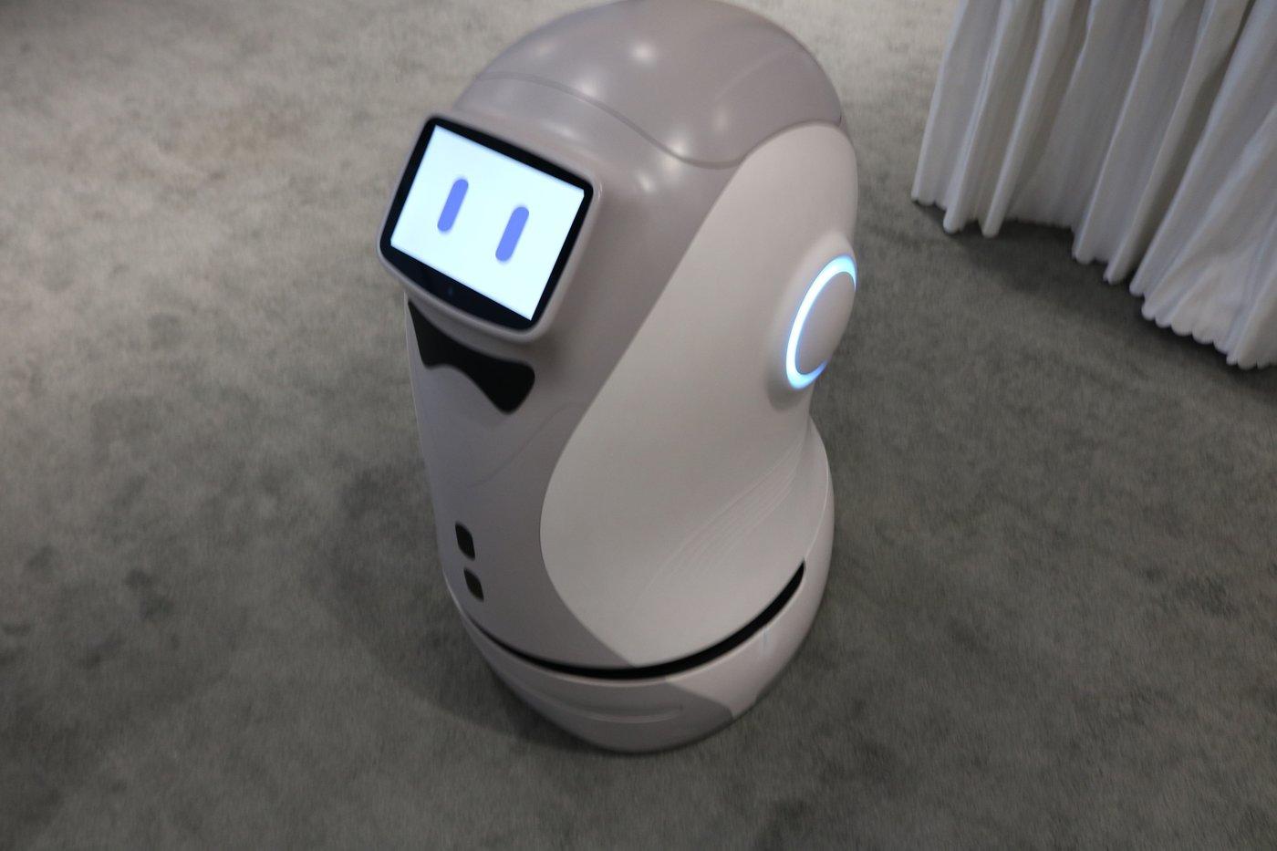呆萌的YOGO配送机器人