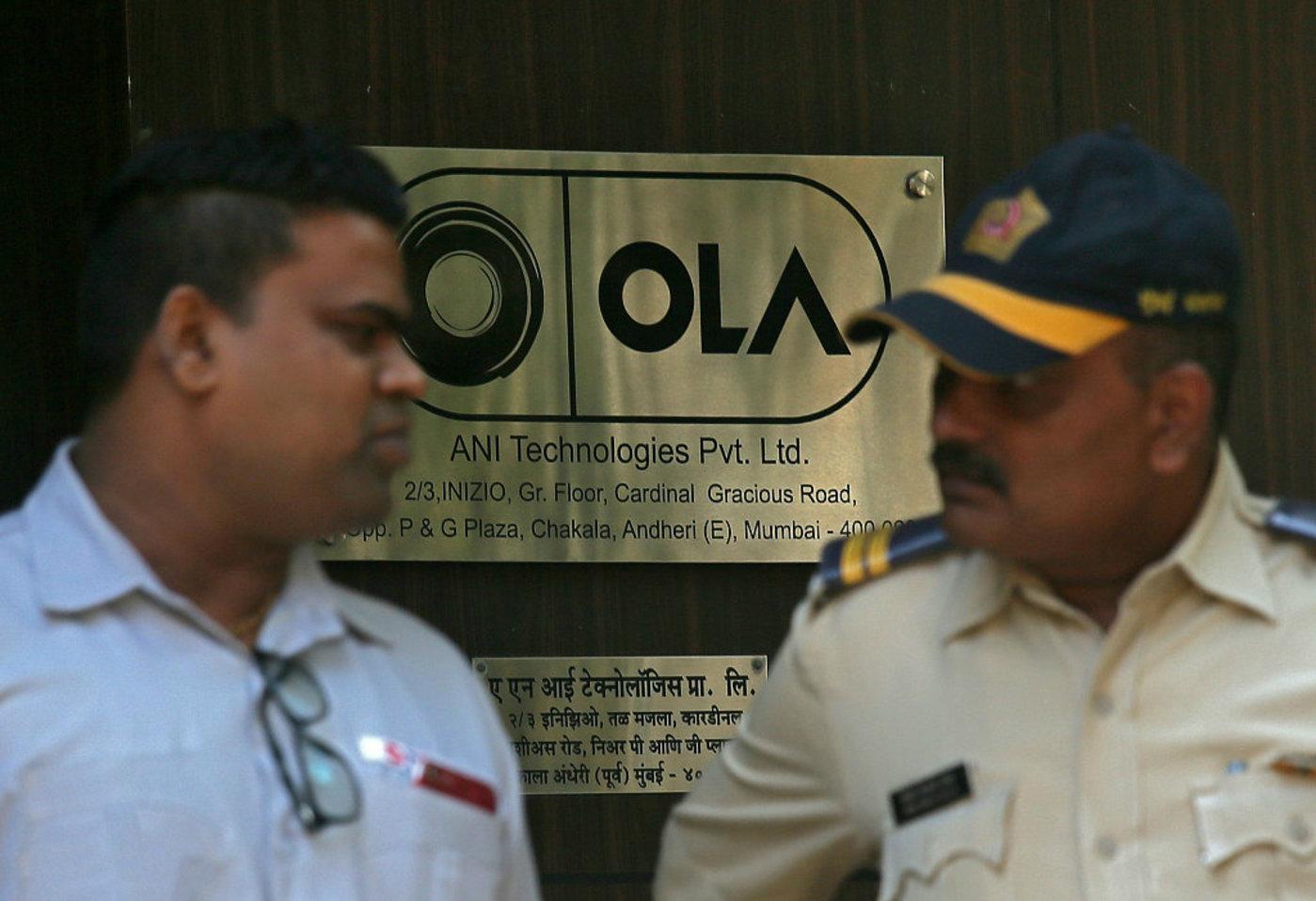 Ola:印度版Uber,图片来源于视觉中国