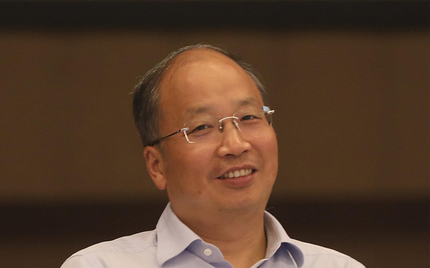 新任证监会主席易会满 图/视觉中国