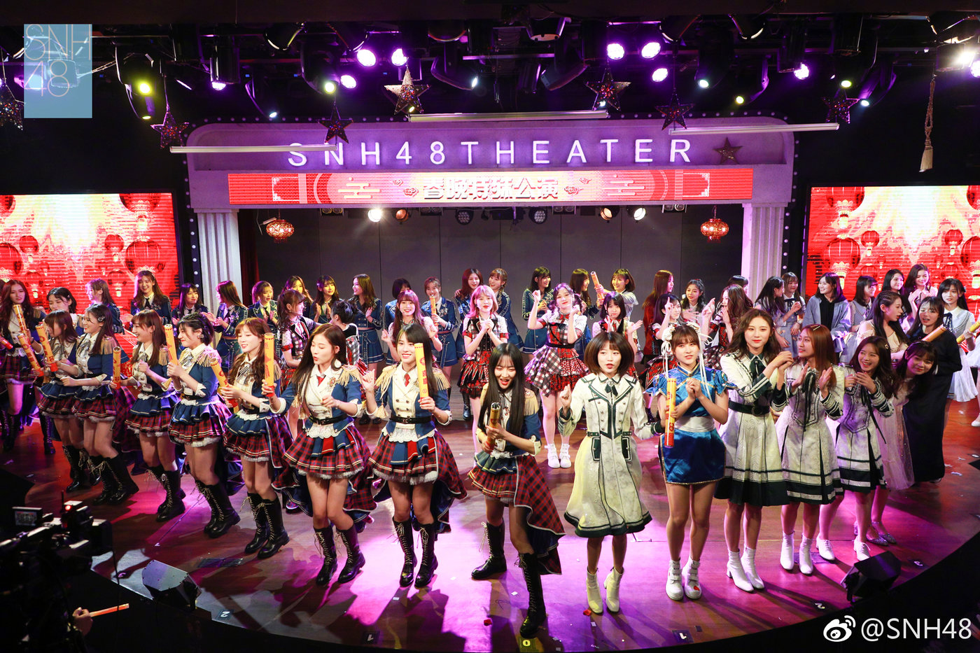 图片来自于@SNH48