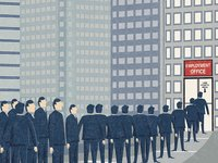 难找的工作:新一线城市成毕业生求职新宠