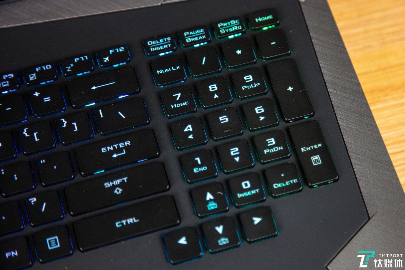 台式机键盘布局