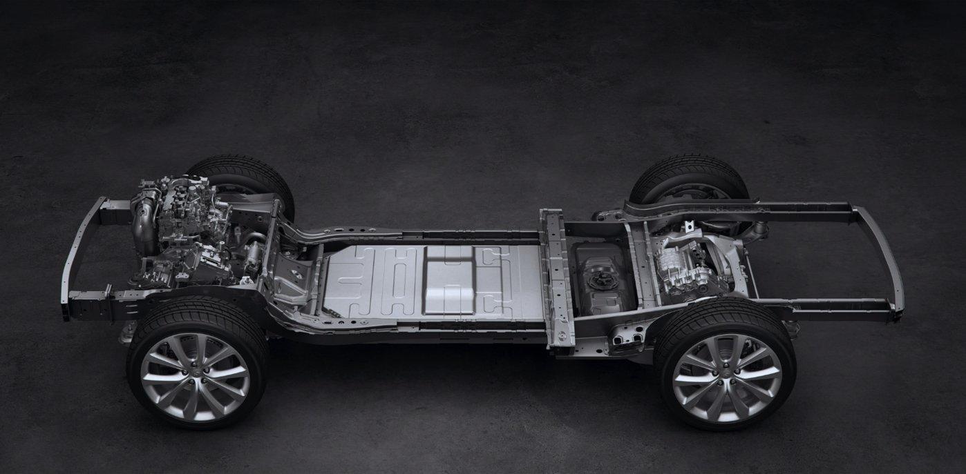 增程式电动汽车底盘