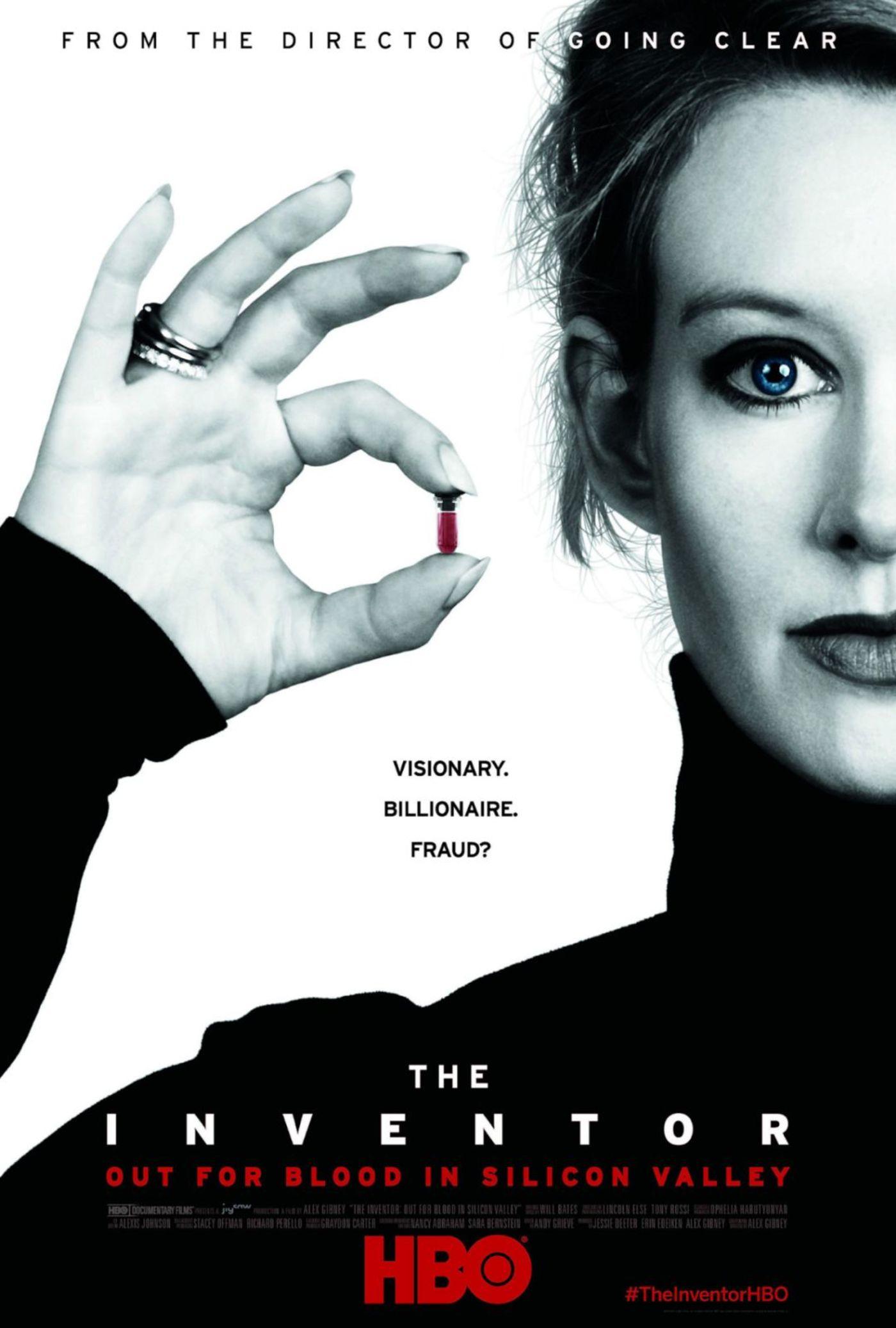 HBO Theranos 纪录片海报