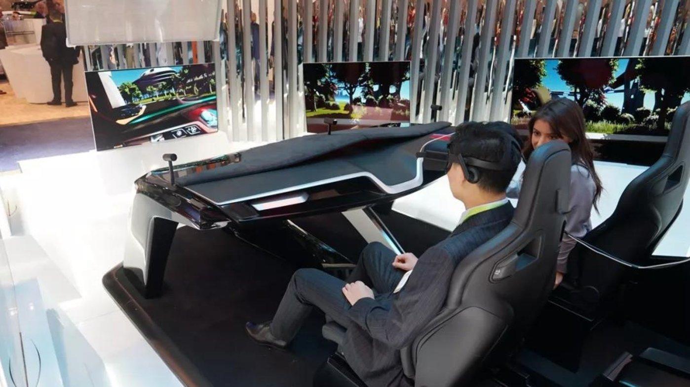 虚拟驾驶舱