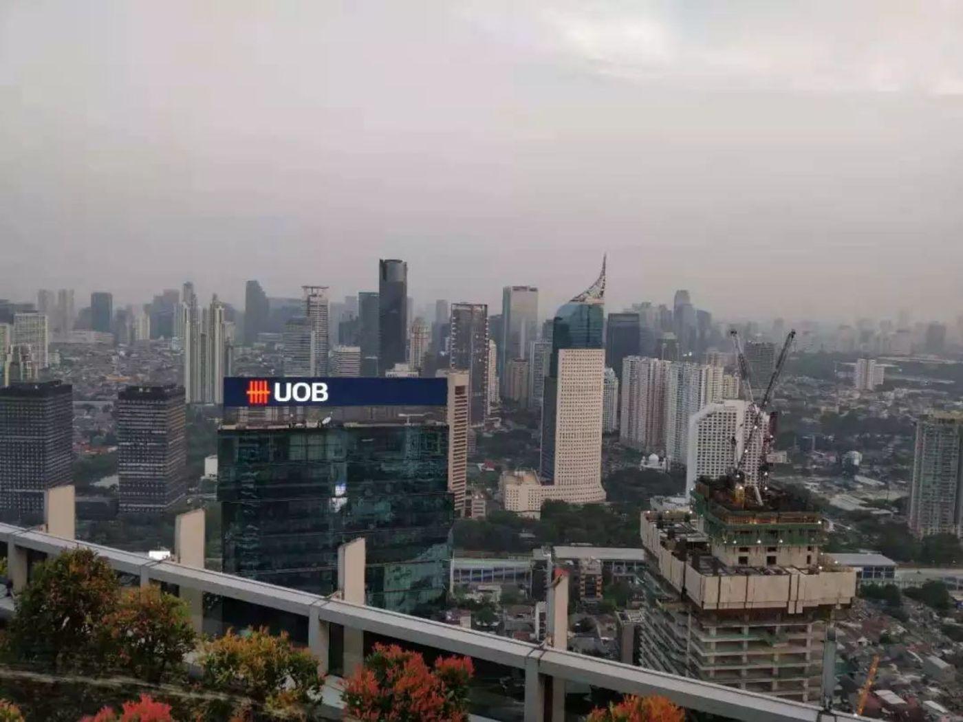 印尼首都雅加达在国内现金贷从业者的眼中,是一块淘金热土。 / 摄于印尼雅加达