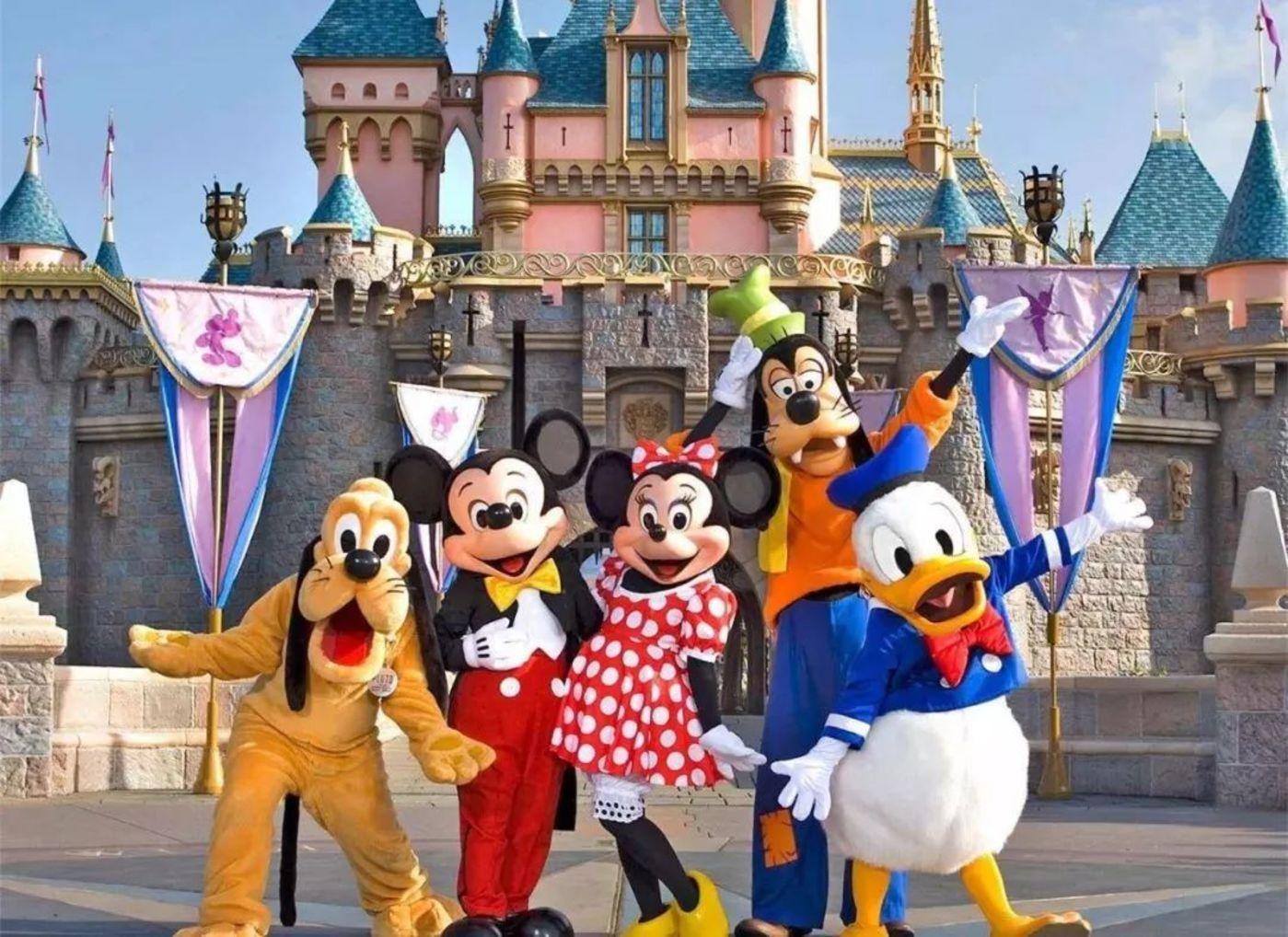"""作为""""终端""""的迪士尼乐园"""