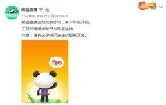 熊猫直播官方宣布停服:主站流浪计划第一阶段开启