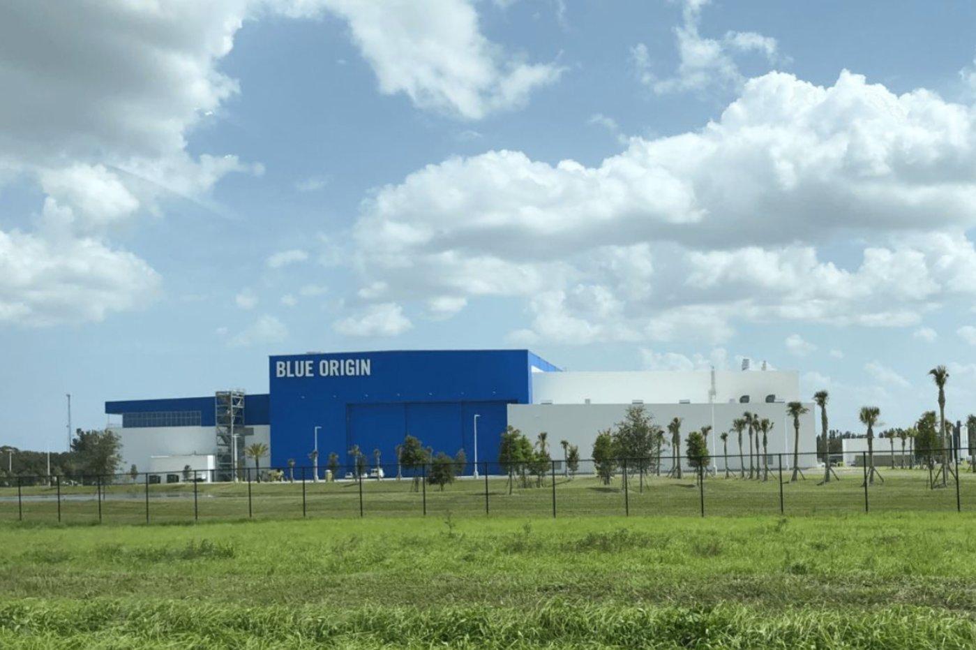 Blue Origin 位于美国弗罗里达州的工厂设施