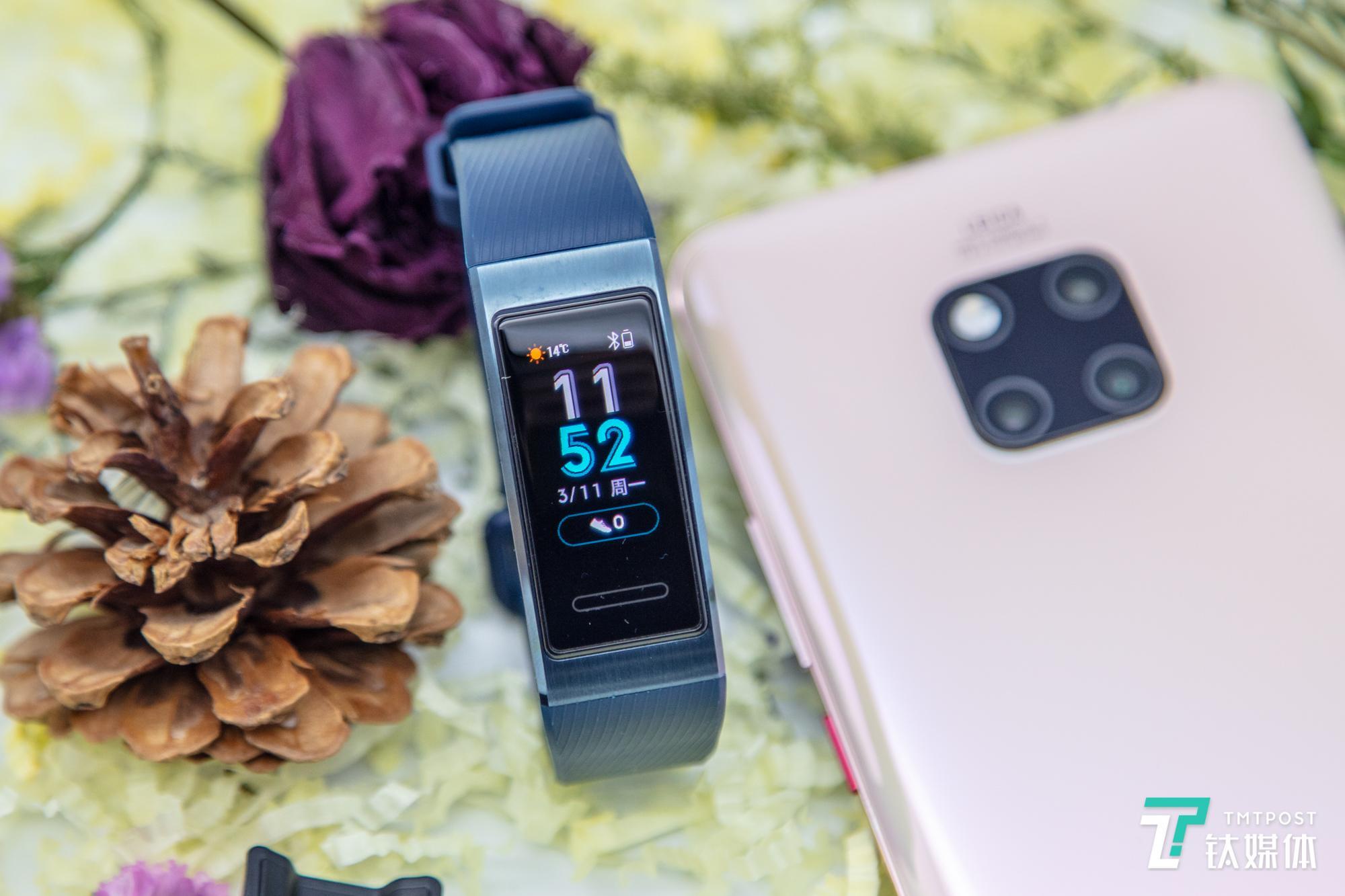 运动+健康+生活,手腕上的24小时助理,华为手环3 Pro评测 | 钛极客
