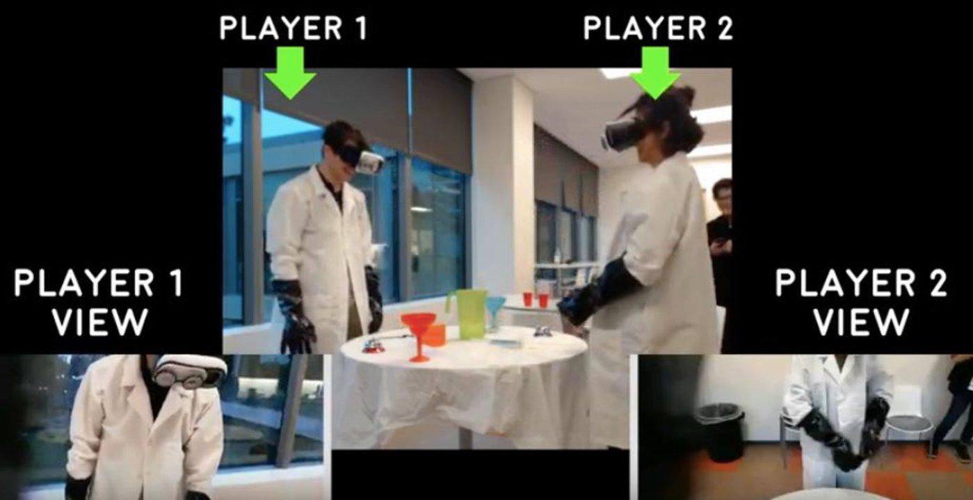 VR视角互换