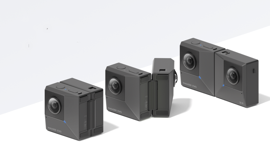 Born to 3 d popularization, Insta 360 launch folding panoramic open hole 3 d camera
