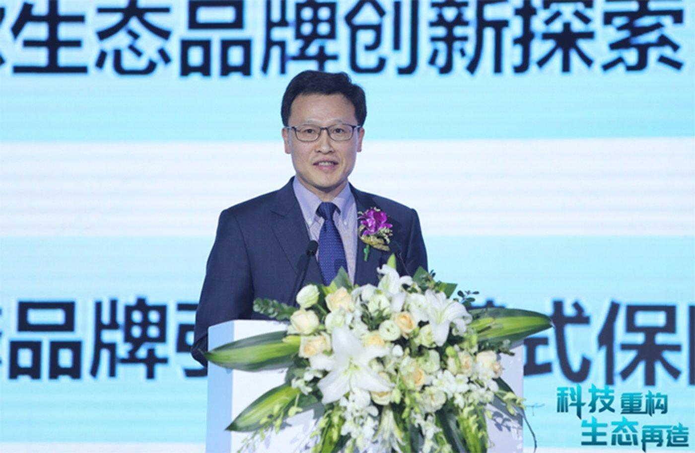 海尔集团董事局副主席、执行总裁 梁海山先生