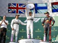 【图集】2019赛季 F1 澳大利亚站,本田引擎时隔11年再次登上颁奖台