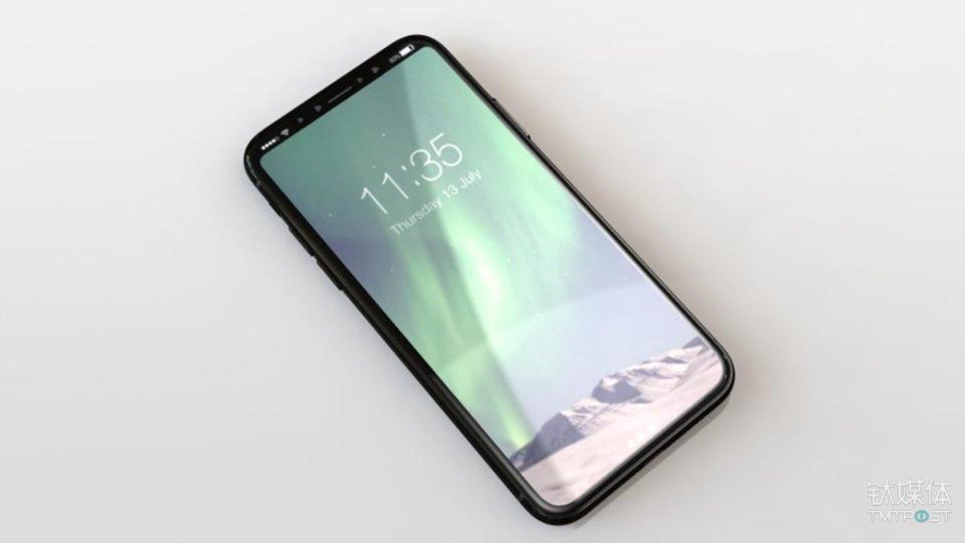 根据供应商透露的信息作出的iPhone 8渲染图。图片来源/Forbes