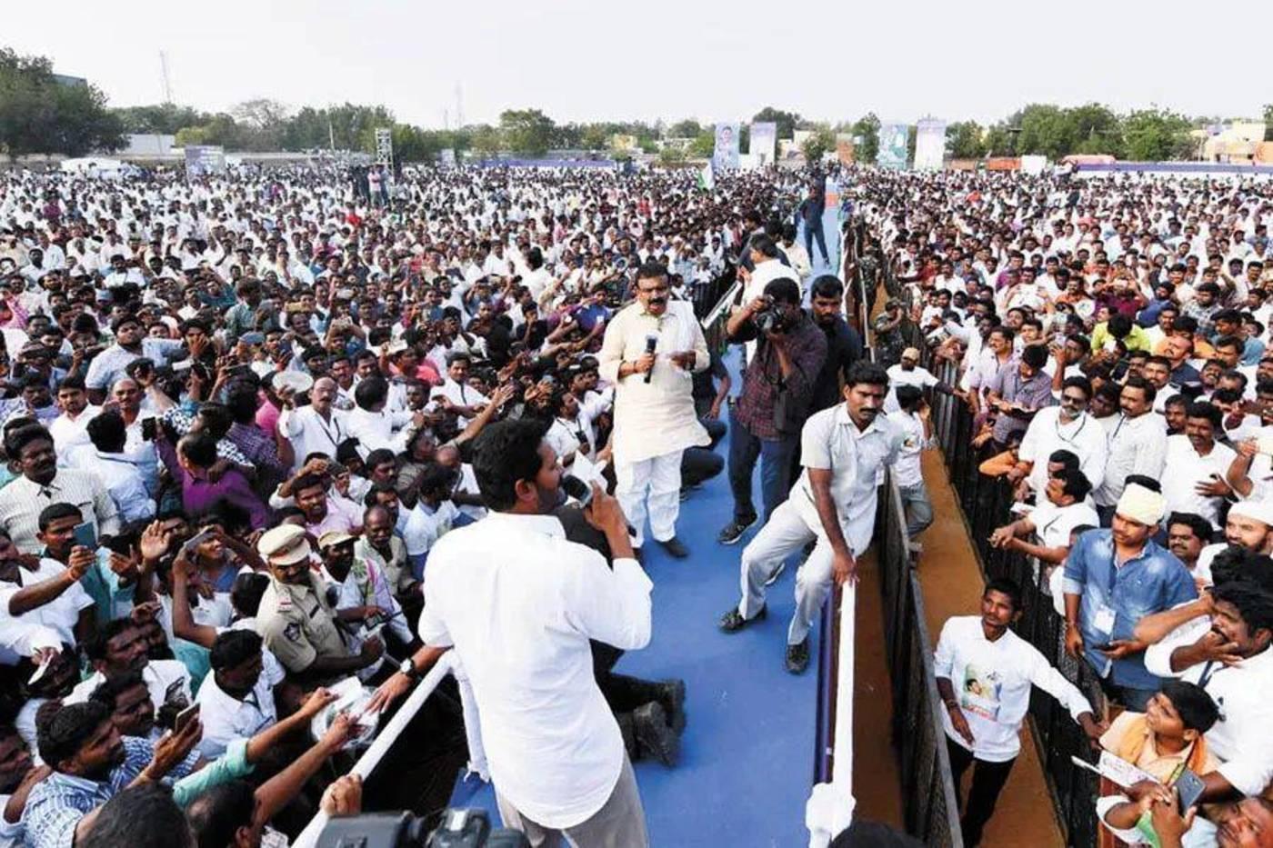 Prashant Kishor的印度政治行动委员会与YSR大会党合作