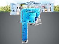 【图集】45米!世界最深游泳池将开放