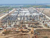 【图集】探访特斯拉上海工厂:总装车间下月完工,年底投产