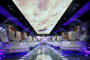 【图集】全球首家VR影厅:360°旋转座椅,票价38起,没有大荧幕