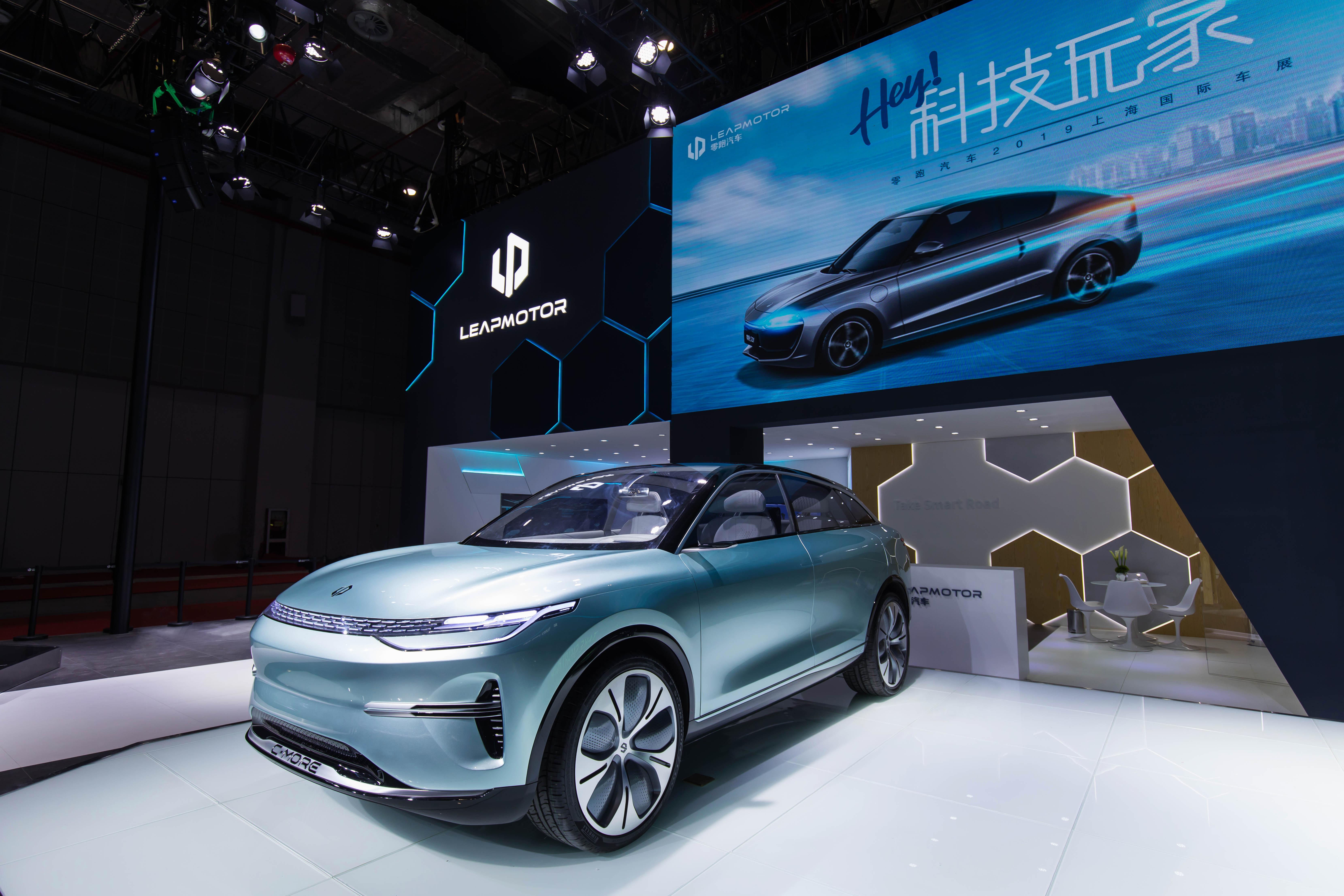 零跑首款SUV车型C-more亮相,搭载L3级自动驾驶,可升级到L4 | 一线车讯