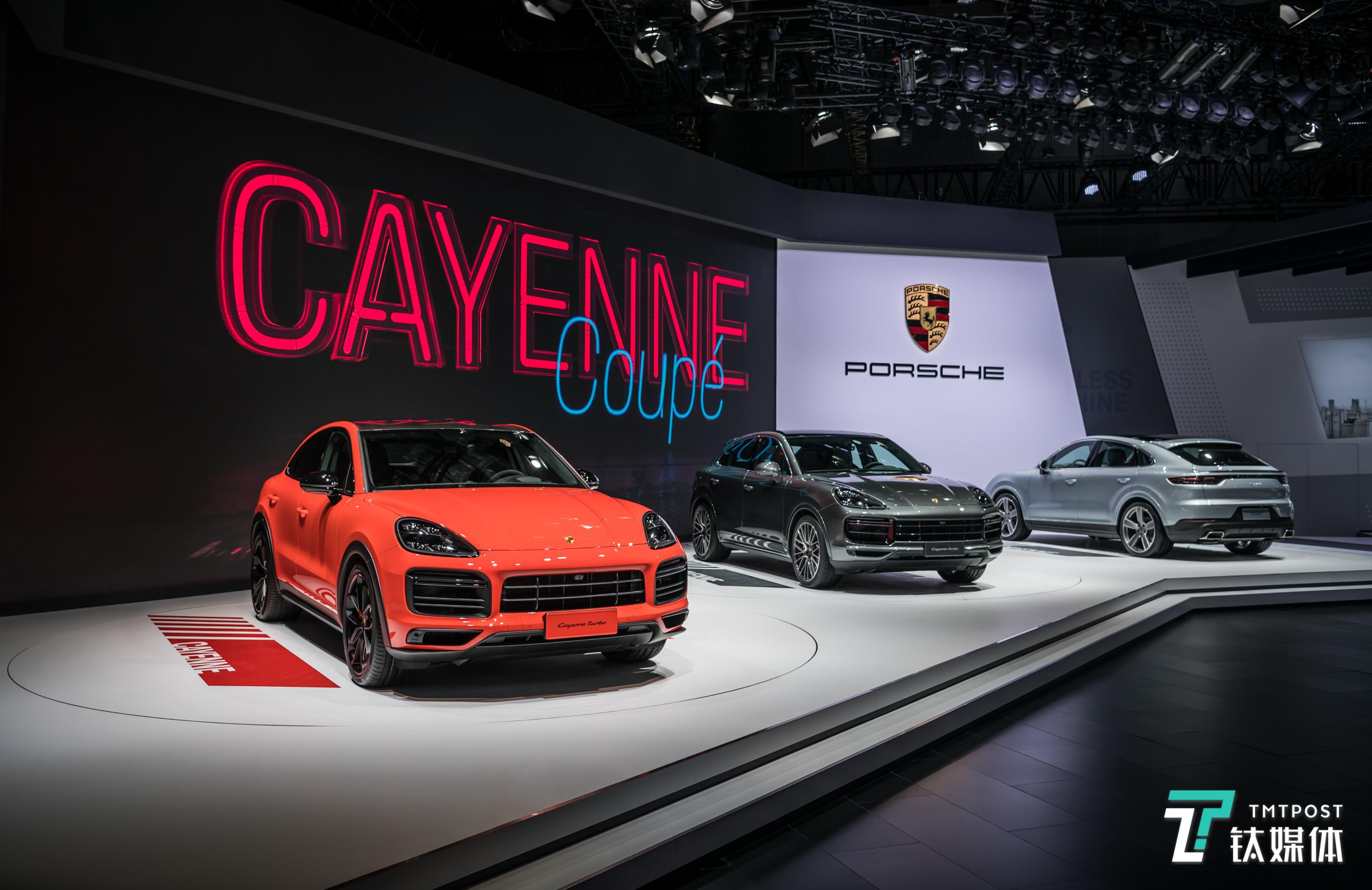 保时捷Cayenne Coupé亚洲首秀,它将被推向新的细分市场 | 一线车讯