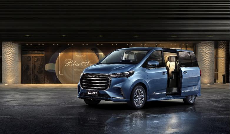 上汽大通推出首款氢燃料乘用车G20FC,续航550公里,5分钟完成加氢 | 一线车讯