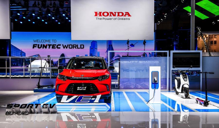 东风本田首款纯电动车X-NV概念车亮相,2019下半年量产上市 | 一线车讯