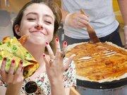 """去纽约街头卖煎饼,成了新时代的""""美国梦"""