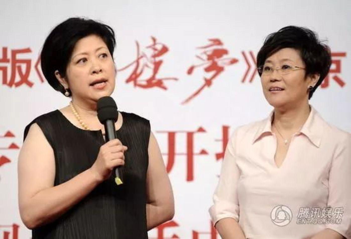 李少红和李小婉(图片来源:腾讯娱乐)