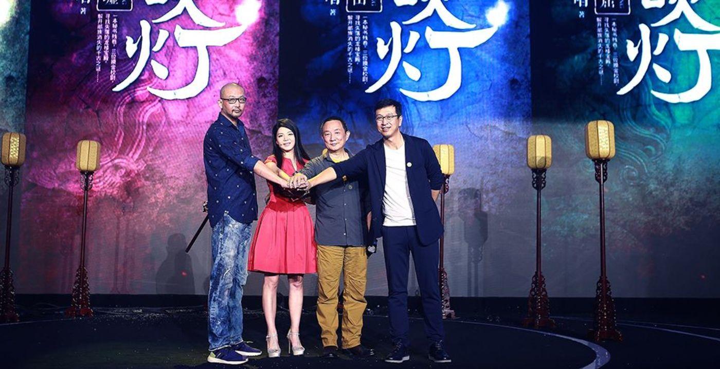 继孔笙、管虎之后,张黎也宣布加盟参与《鬼吹灯》的打造,(图片来源:全媒派)