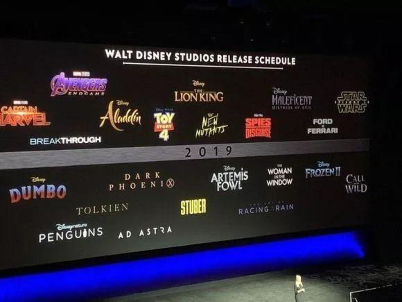 """窥见好莱坞2019:""""迪士尼x福斯""""亮相、传统片厂进击、流媒体依旧""""动荡"""""""
