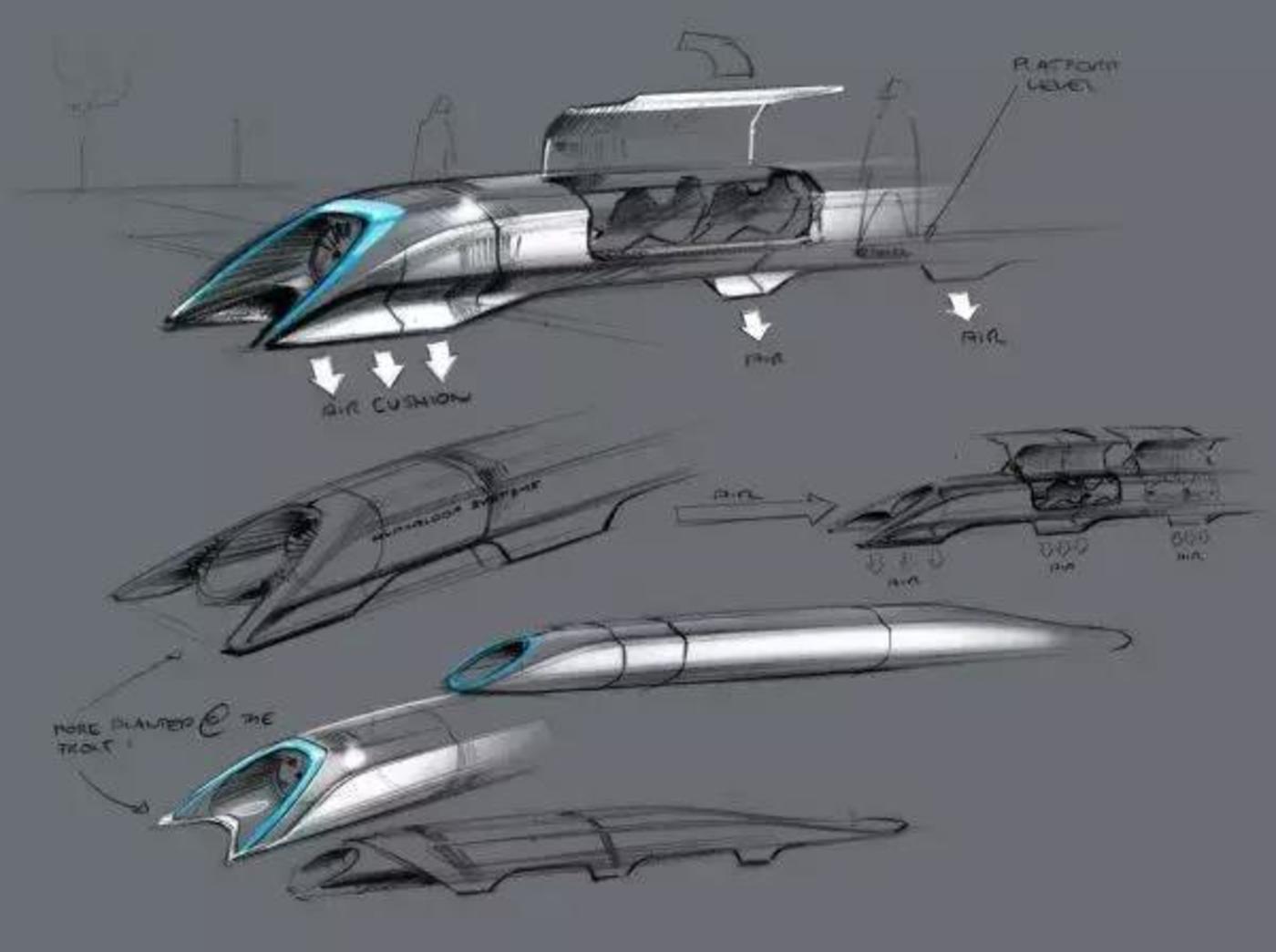 Elon Musk 的设计草稿